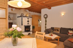 Wohnzimmer - Ferienwohnung 4
